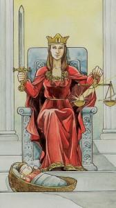 arkana wielkie - Sprawiedliwość