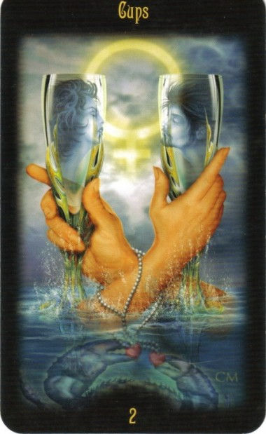 Two of Cups Divine